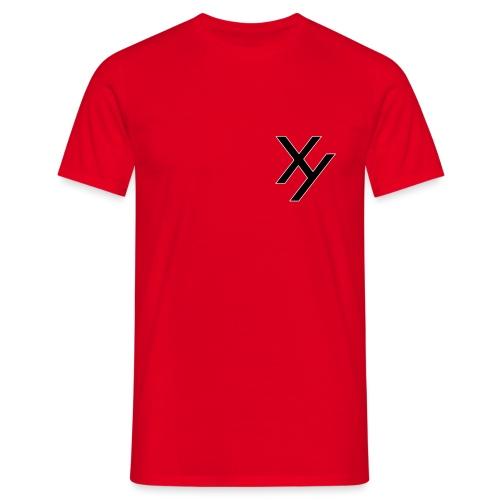 Xy logo black white - Männer T-Shirt