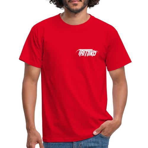 Trittiko Logo Weiss - Männer T-Shirt