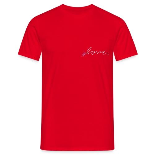 Purple Love ARMY (white) - Men's T-Shirt