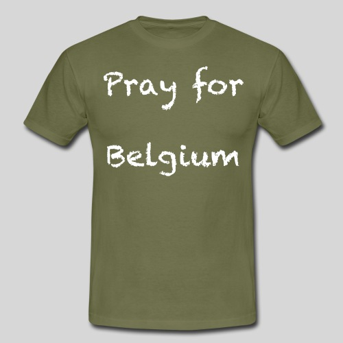 Pray for Belgium - T-shirt Homme