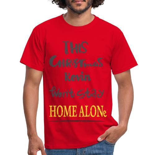 Kevin McCallister Home Alone - Koszulka męska