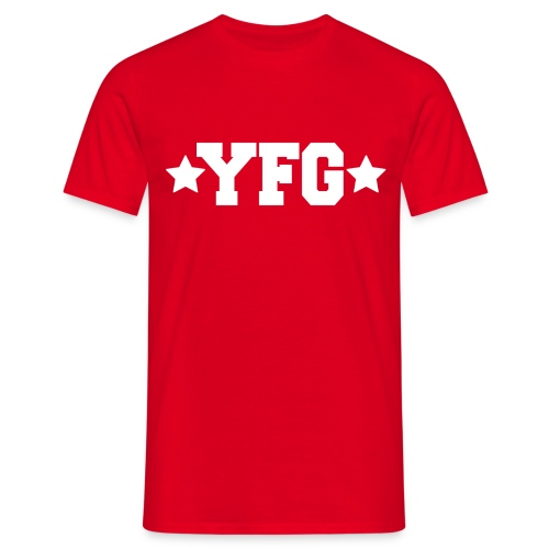 YFG Star White png - Mannen T-shirt