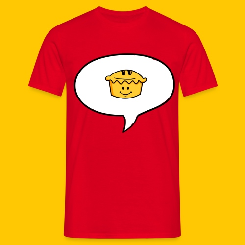 Reciting Pie - Men's T-Shirt