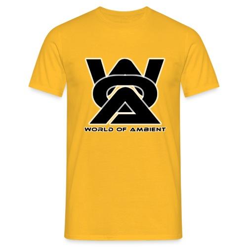 woa logo dikke rand - Men's T-Shirt