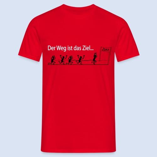 Der Weg ist das Ziel - Marathon - Männer T-Shirt