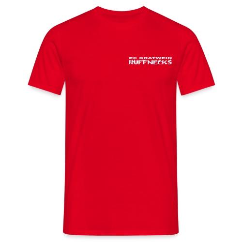 schriftzug ruff blk shirt - Männer T-Shirt