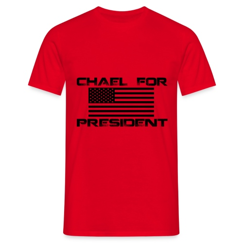 CHAEL FOR PRES 1 png - T-skjorte for menn