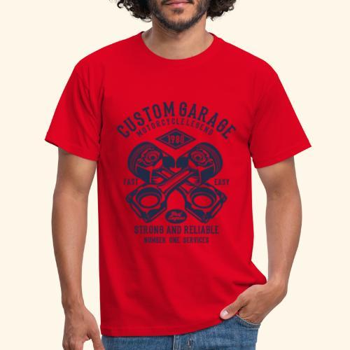 Custom Garage - Männer T-Shirt