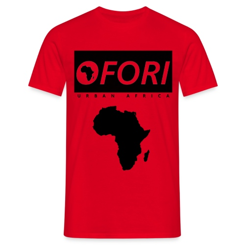 Black Africa png - Men's T-Shirt