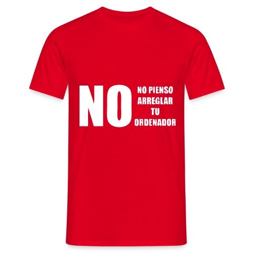 nopienso - Camiseta hombre