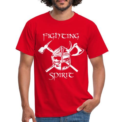 casque pompier fighting spirit - T-shirt Homme