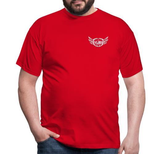 VLBG Logo Weiß (Vorne & Hinten) - Männer T-Shirt