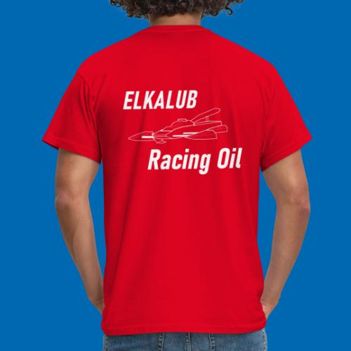 Hydro RacinOil weiss - Männer T-Shirt