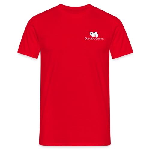 GS TShirt schwarz weiss - Männer T-Shirt