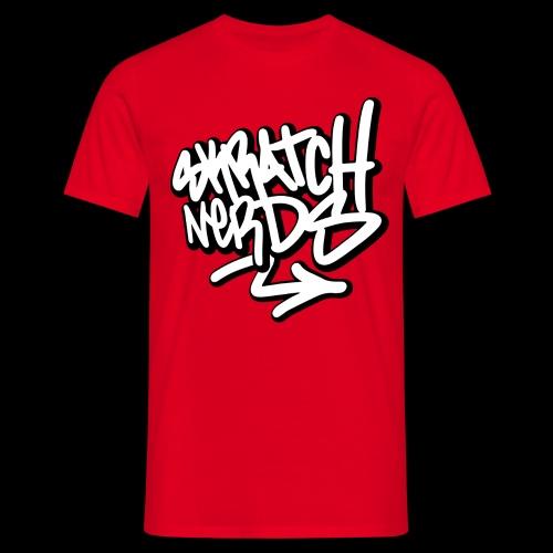 SKRATCH NERDS TAG BLACK 01 copie - T-shirt Homme