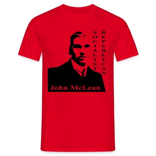 maclean soc rep - Men's T-Shirt