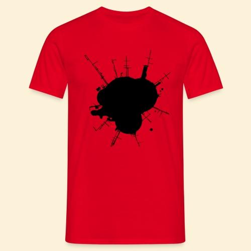 Planet Antenne_s - Männer T-Shirt