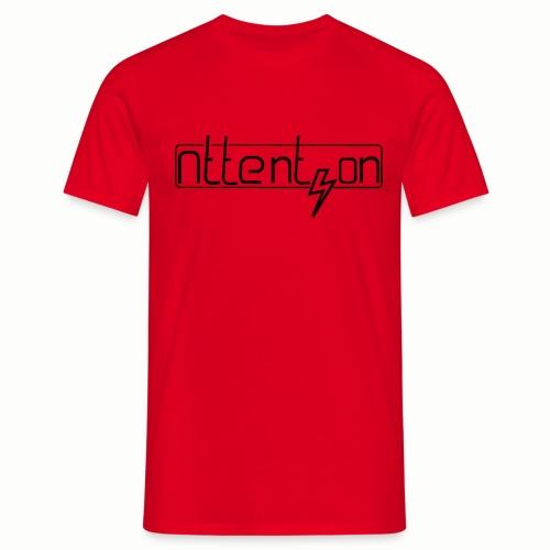 attention - Mannen T-shirt