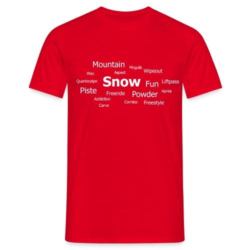 tag cloud - Men's T-Shirt