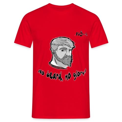 no beard - Männer T-Shirt