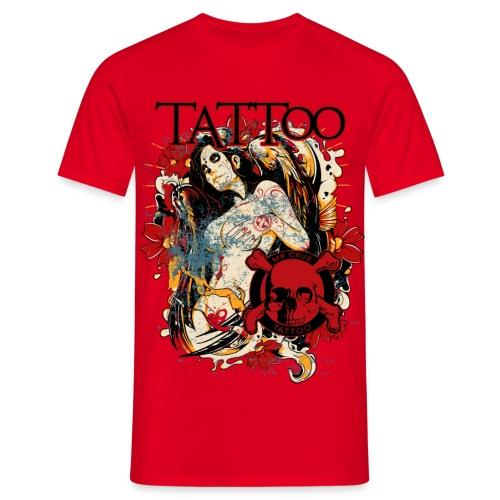 Mr Crue Tattoo Angel png - T-shirt herr