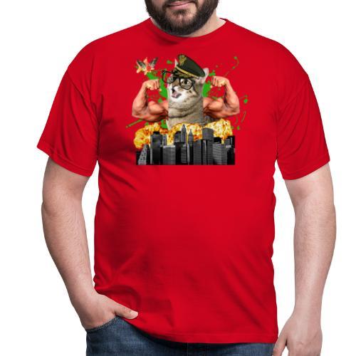 psychocat - Mannen T-shirt