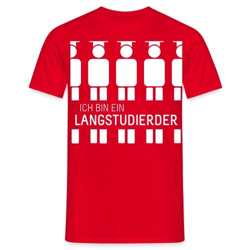 Ich bin ein Langstudierder vector - Men's T-Shirt