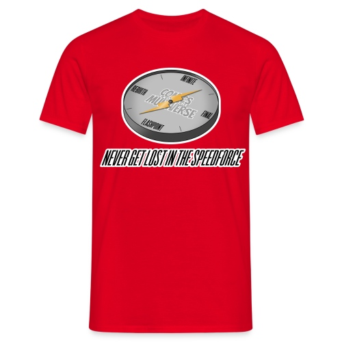 Lost in the Speed Force - Men's T-Shirt