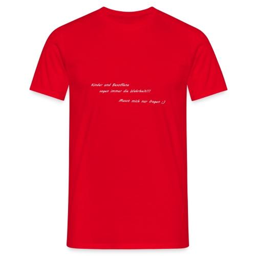 besoffen - Männer T-Shirt
