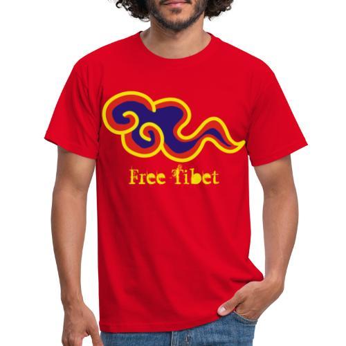 Free Tibet - Camiseta hombre