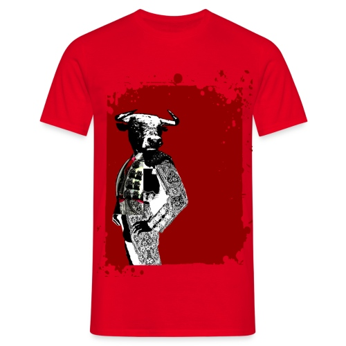 toro torero - Camiseta hombre