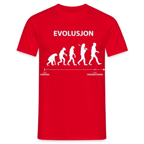 evolusjon - T-skjorte for menn