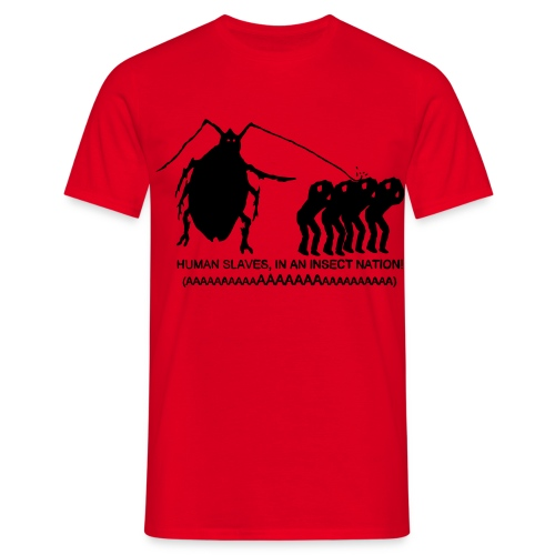 Insect Nation - Men's T-Shirt