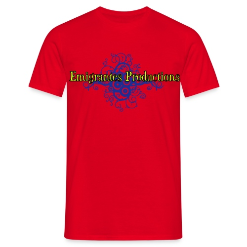 Emigrantes Productions logo SVG 3 couleurs - T-shirt Homme