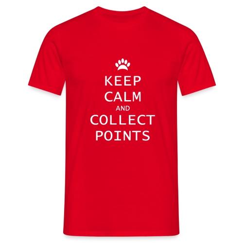 shirt keep calm and collect pp png - Mannen T-shirt
