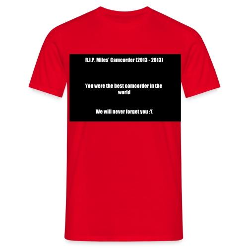 camcorder death png - Männer T-Shirt