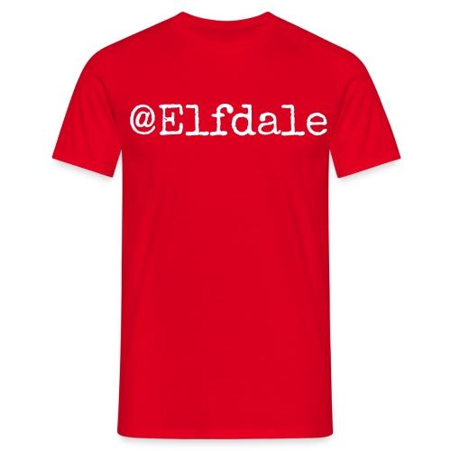 elfdale - T-skjorte for menn