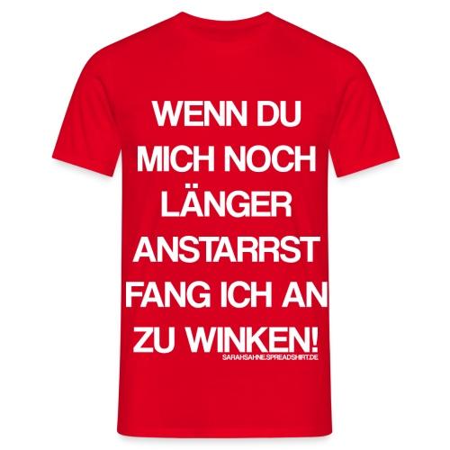 Winken - Männer T-Shirt