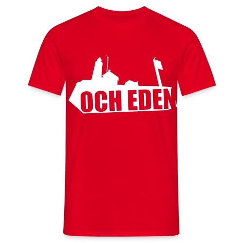 och eden - Mannen T-shirt