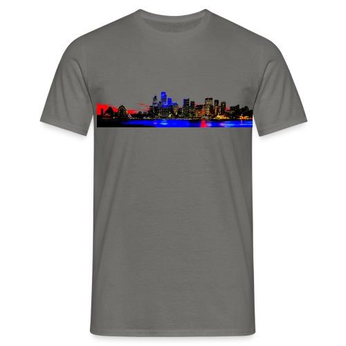 Sydney skyline 2 - Maglietta da uomo