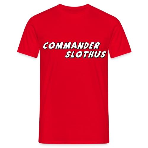 CommanderSlothus Logo - Men's T-Shirt