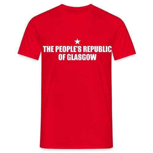 People's Republic Glasgow - Men's T-Shirt