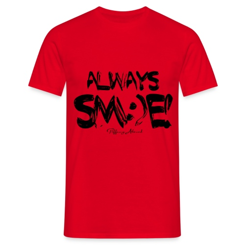 Always Sm e Fingerpaint - Men's T-Shirt