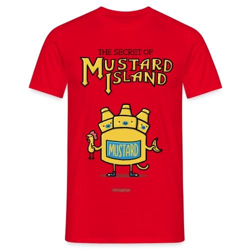 Secret of Mustard Island - Männer T-Shirt
