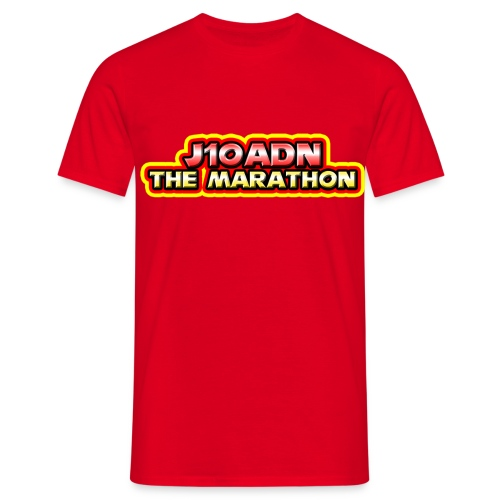 Marathon T shirt 2 png - Men's T-Shirt