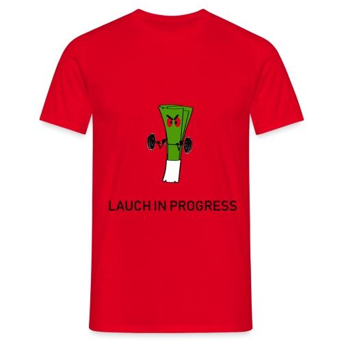 Lauch in Progress T-Shirt Design - Männer T-Shirt