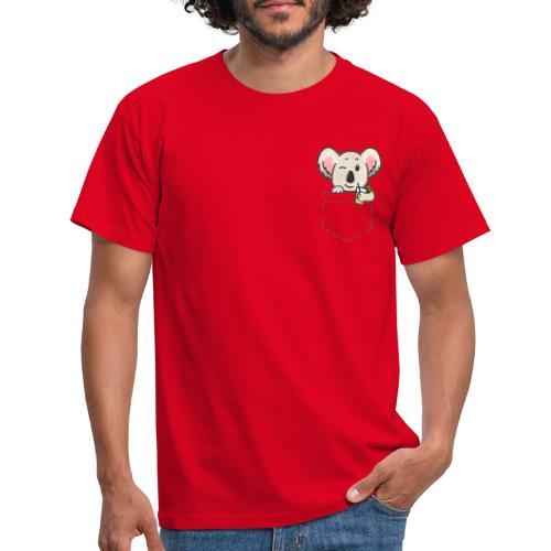 Surf-Koala - Maglietta da uomo