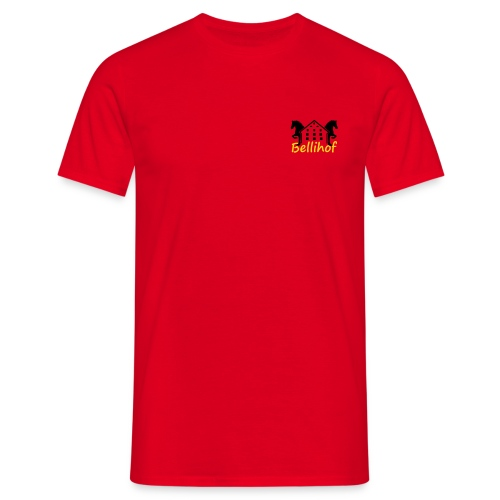 Logo Bellihof - Männer T-Shirt