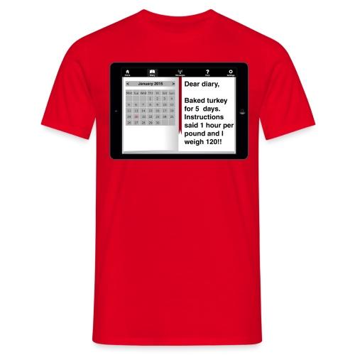 Ediary entry - Turkey - Men's T-Shirt