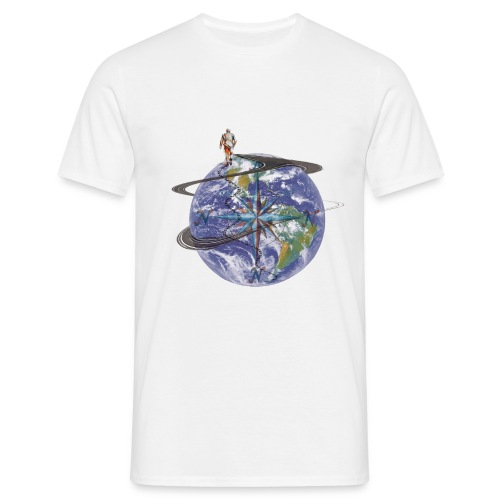 homme terre expression - T-shirt Homme